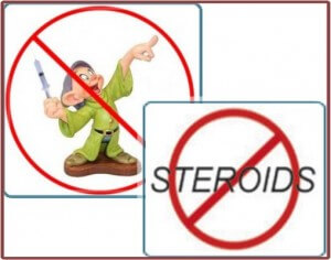 No Steroids in Homoeopathy