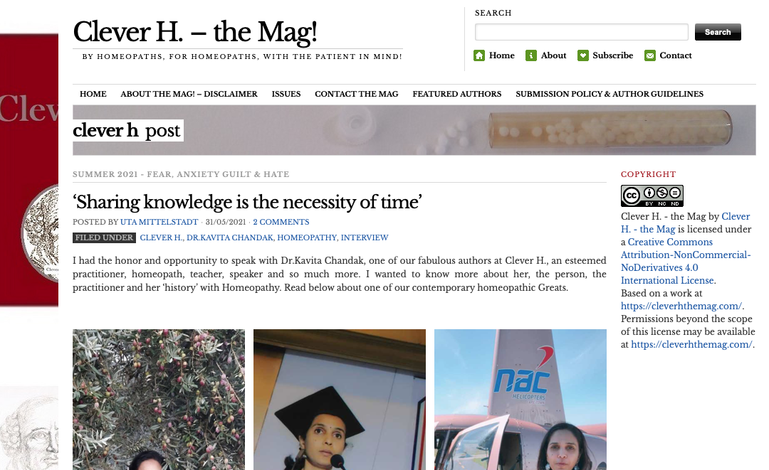 Interview : Clever H. – the Mag!